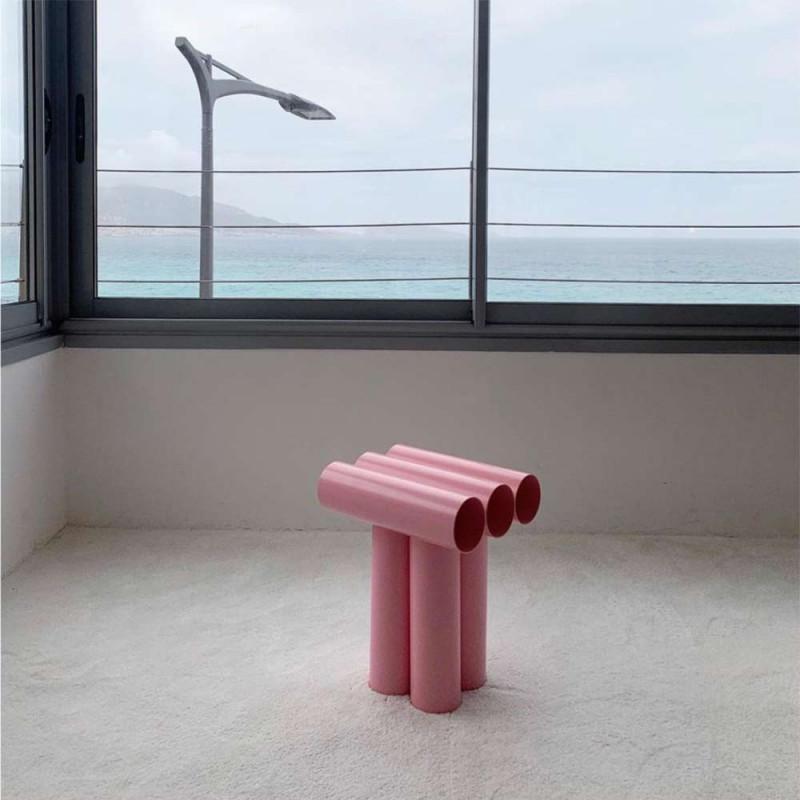 Septem Stool Axel Chay - pink