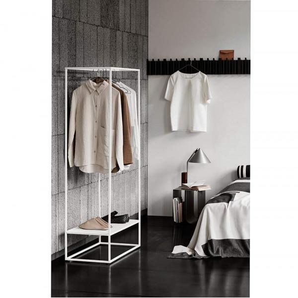 Cone table lamp Kristina Dam styled in bedroom