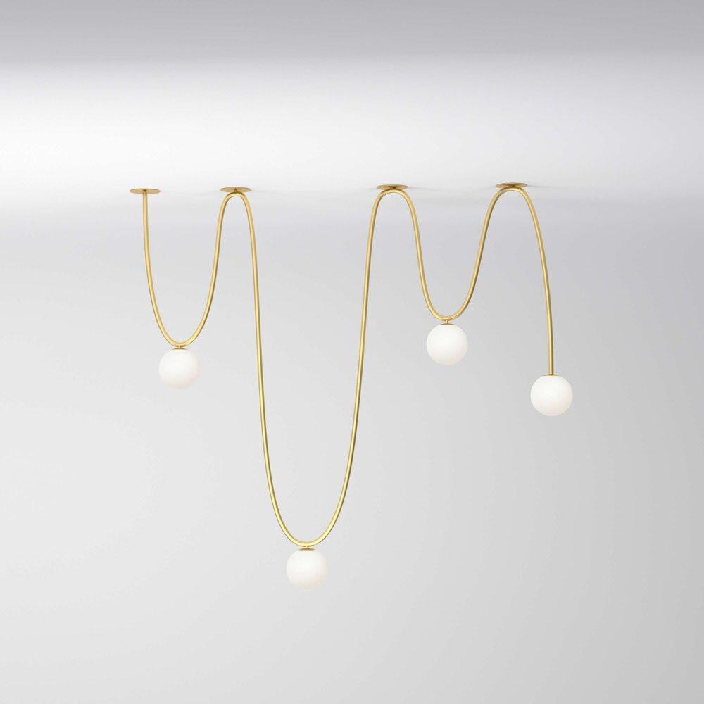 Motive Free Ceiling Light by Atelier Areti