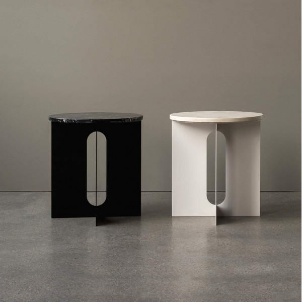 ANDROGYNE MARBLE SIDE TABLE by Menu