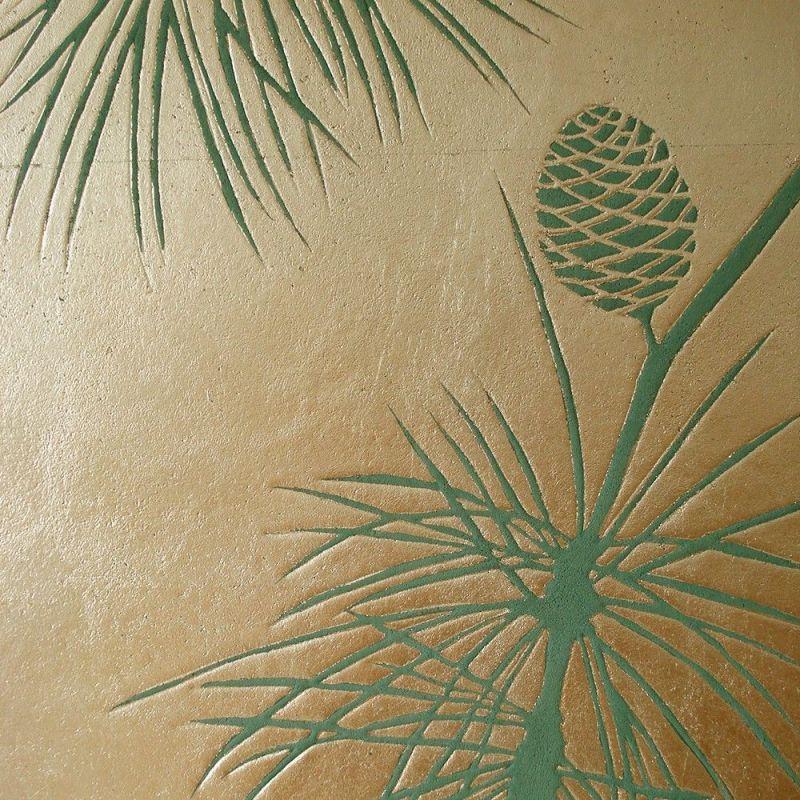 pin dorée by atelier du mur