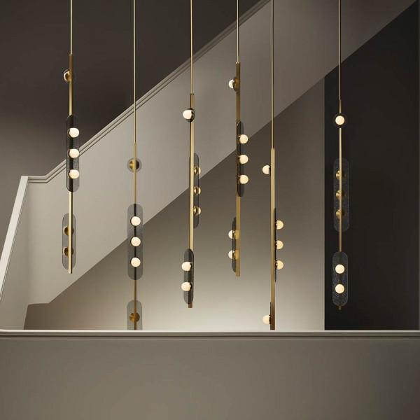 MODULO VERTICAL PENDANT by CTO Lighting