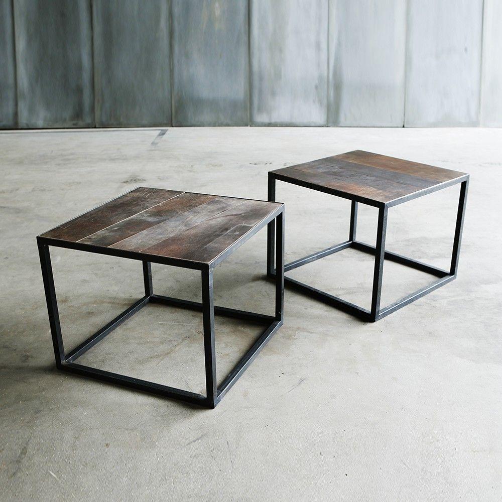 Basse Mesa LeatherChiara Colombini Heerenhuis Table wvn0mN8
