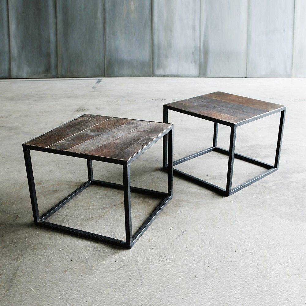 verte rue coffee leather table