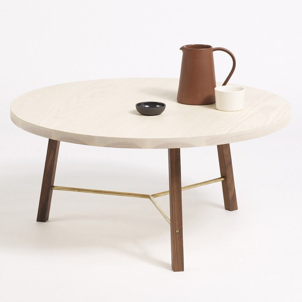 series two coffee table styled in an interior by another country