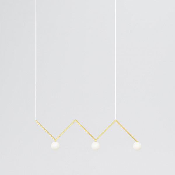 ZIGZAG PENDANT LIGHT by Atelier Areti