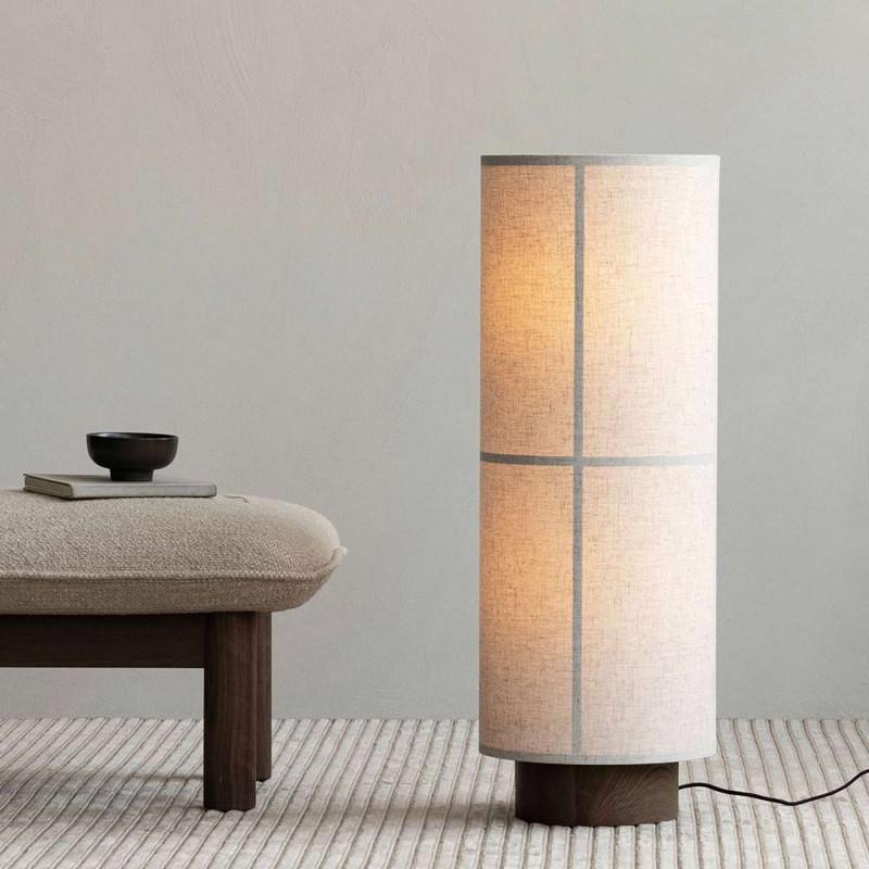 HASHIRA FLOOR LIGHT by Menu raw an wood