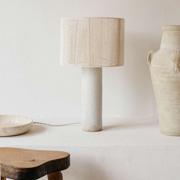 TERRE TABLE LIGHT by Gres Ceramics