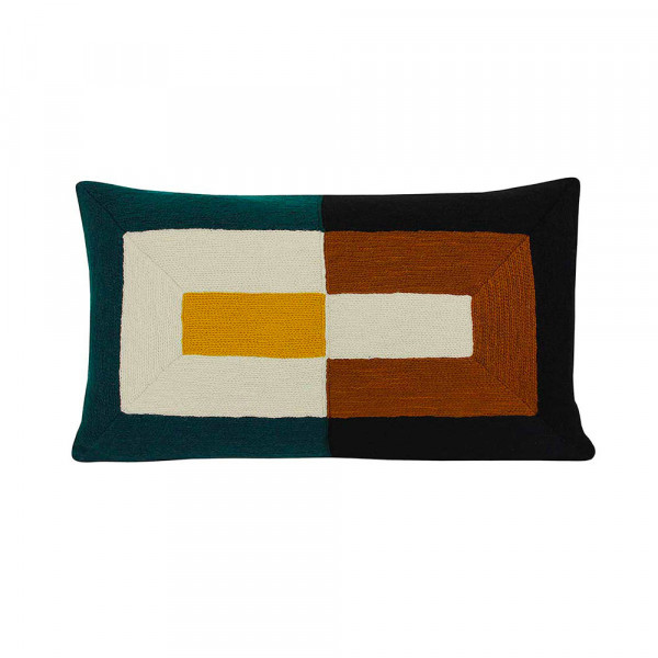 VINCENT CUSHION BLUE by Lindell & Co