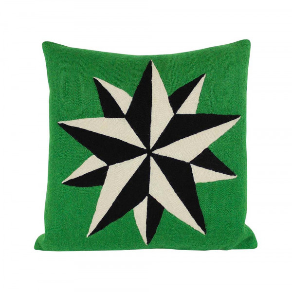 ESTELLE GREEN CUSHION by Lindell & Co