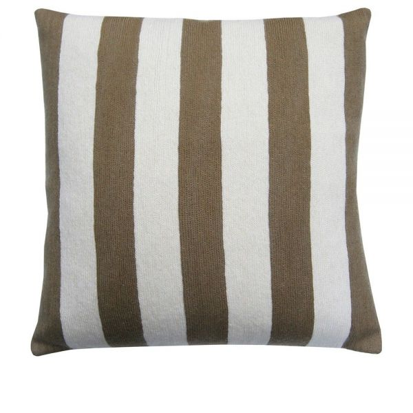 striped cushion by lindell & co