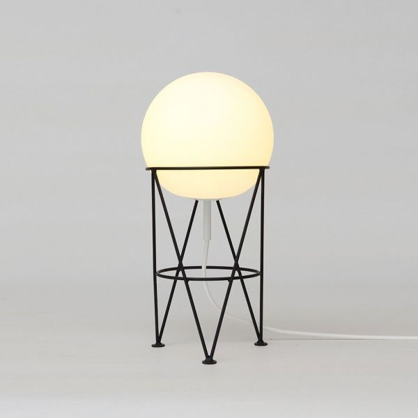 STRUCTURE AND GLOBE DESK LAMP by Atelier Areti