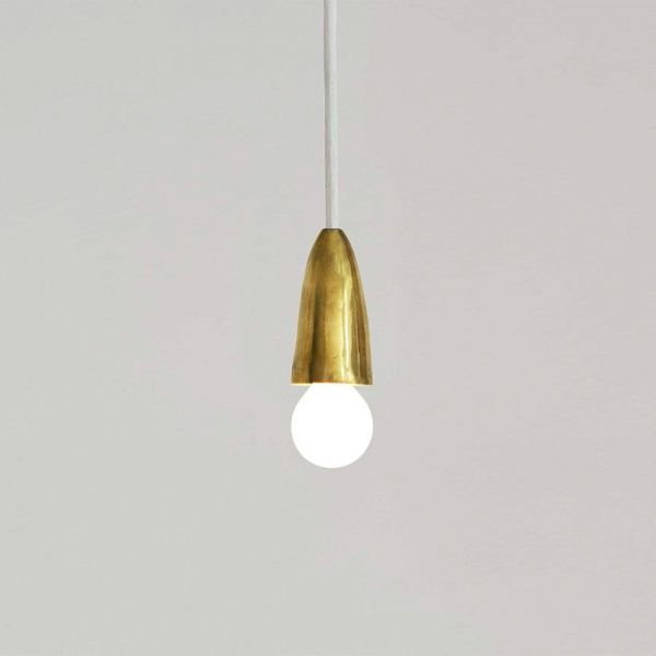 CALYX BRASS PENDANT LIGHT by Atelier Areti
