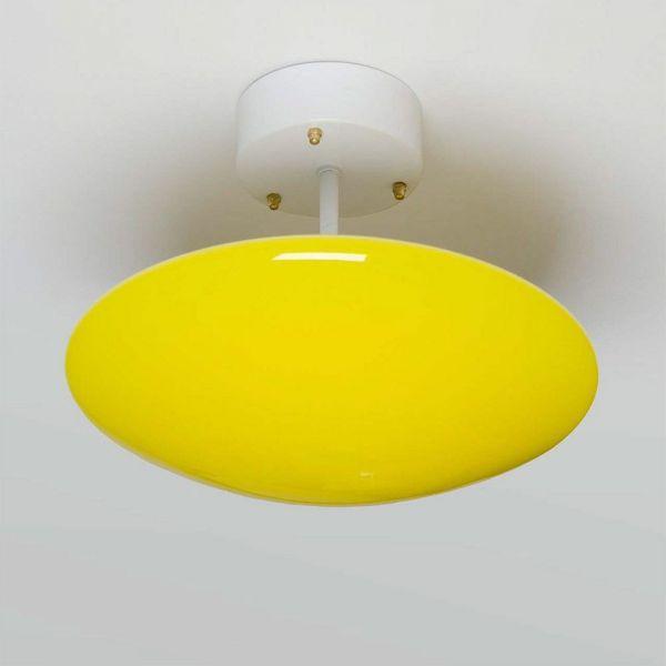 plafonnier sun jaune by atelier areti