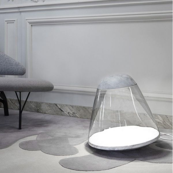 APOLLO FLOOR LIGHT by La Chance