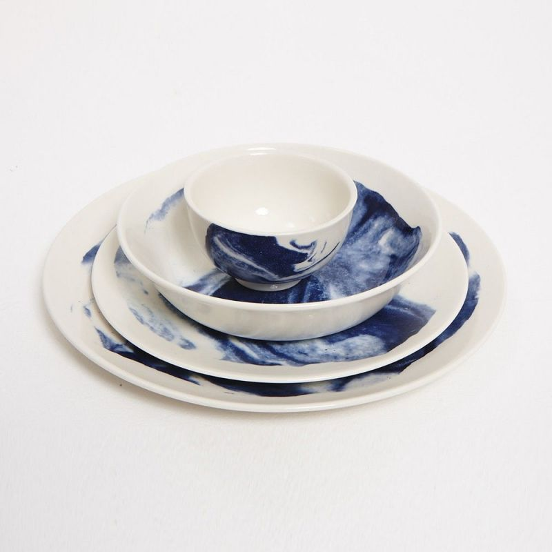 indigo storm handles cup and plates by faye toogood for 1882 ltd