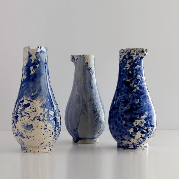 INDIGO STORM VASE / JUG by Faye Toogood for 1882 Ltd