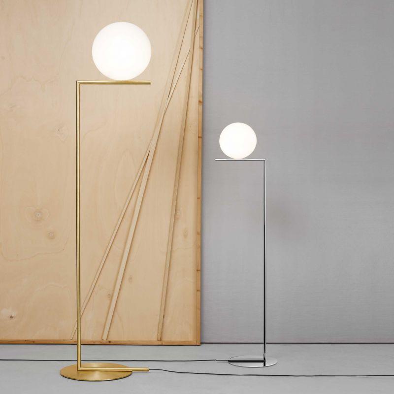 2 flos ic floor lamps