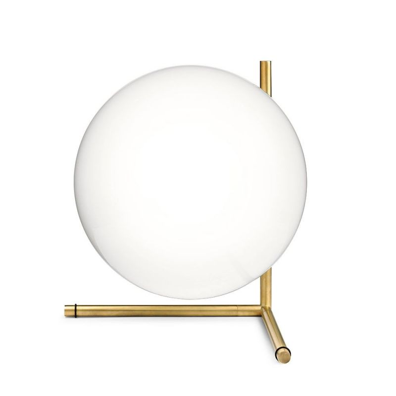 ic t2 low table light white background by flos