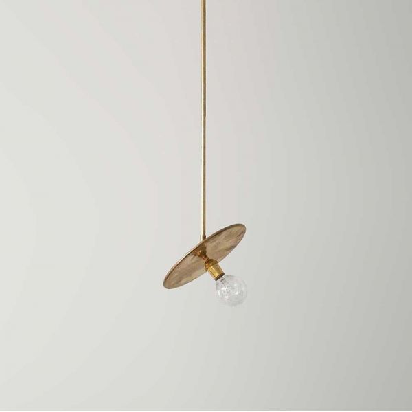 BRASS PENDANT by Workstead