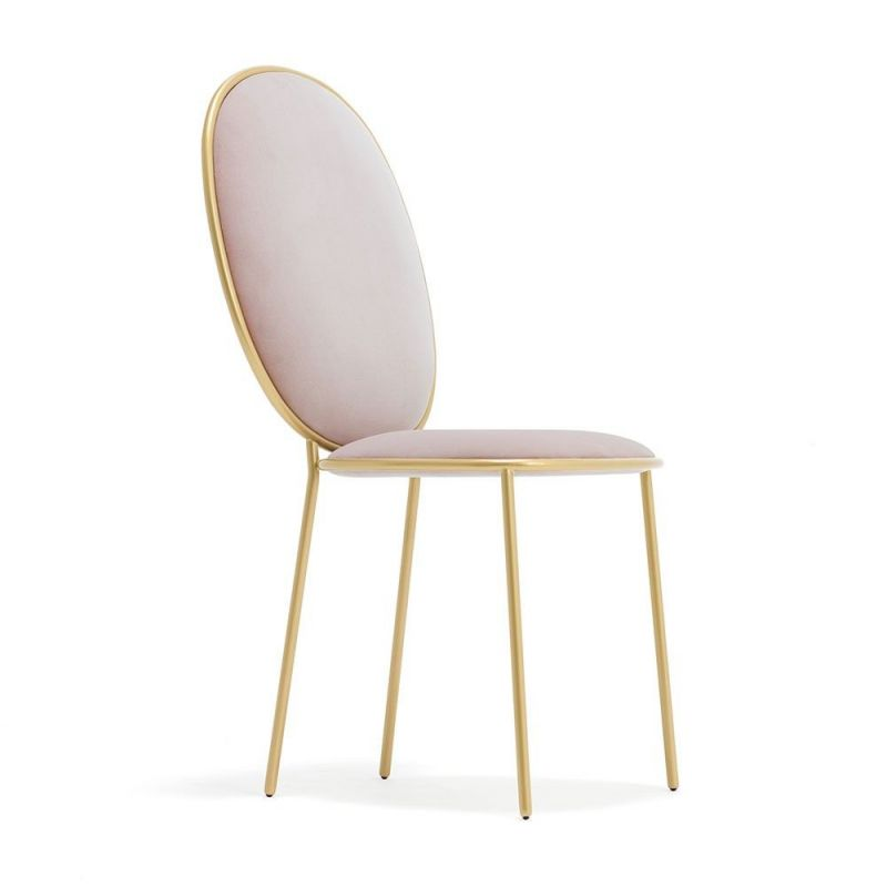 pink stay dining table chair by sé