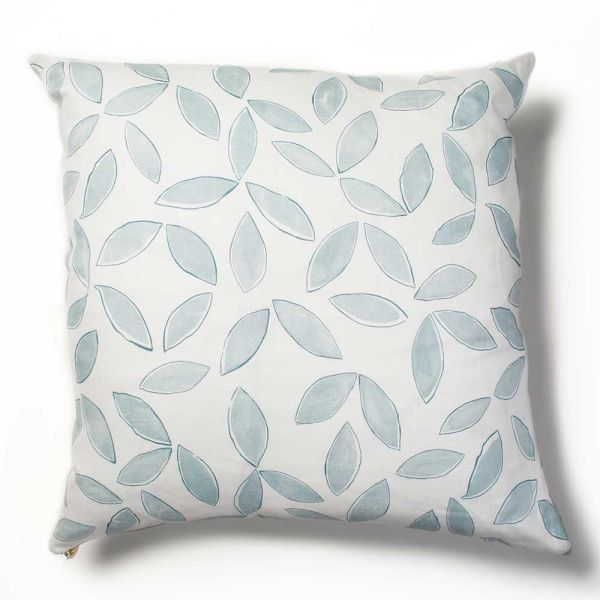 leaves cushion cover by rebecca atwood