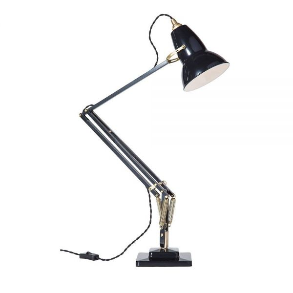 orginal 1227 brass table lamp by anglepoise