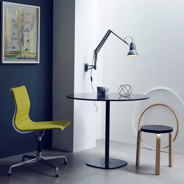 ORIGINAL 1227 BRASS MOUNTED WALL LIGHT by Anglepoise
