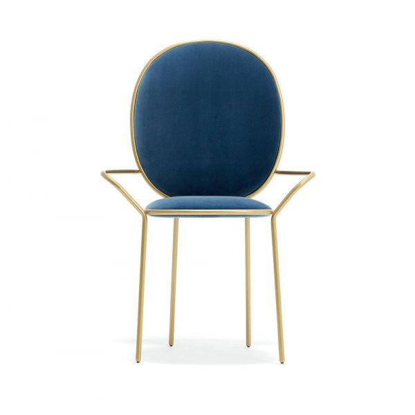 blue stay armchair by sé