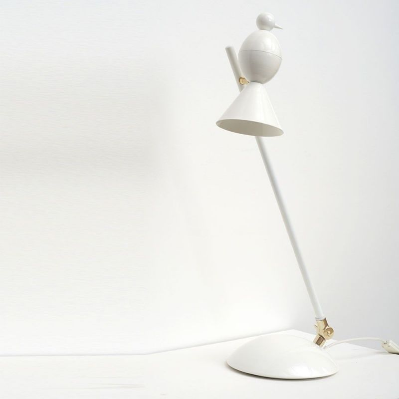 alouette slanted desk lamp by atelier areti