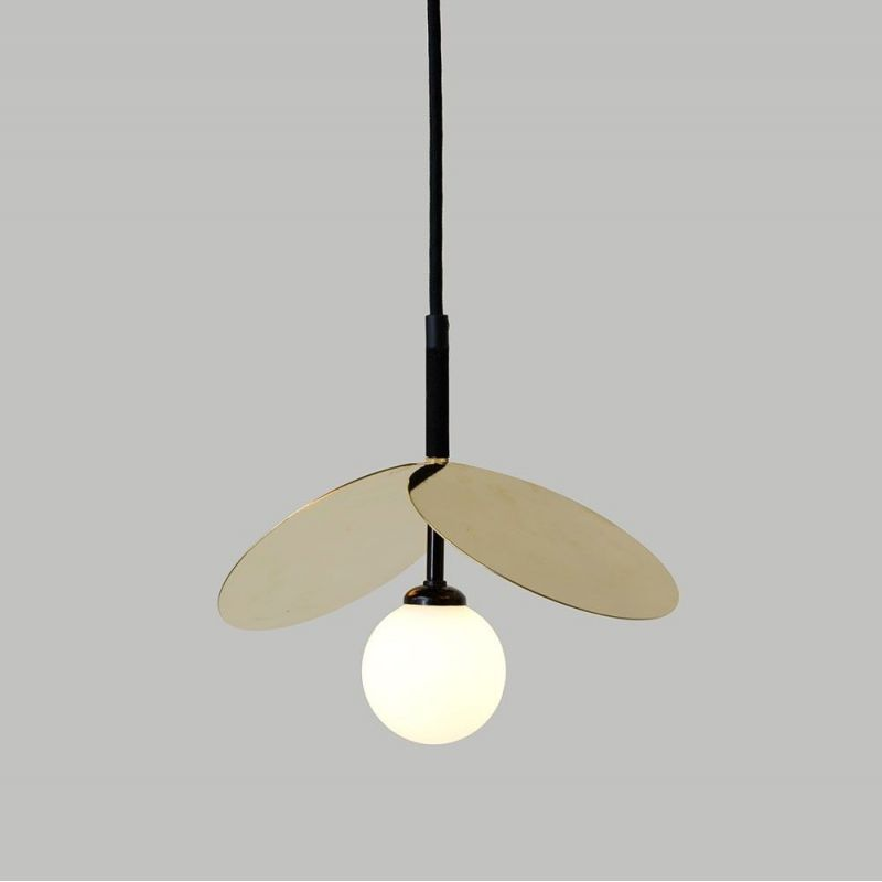Ilios pendant by Atelier Areti in polished brass