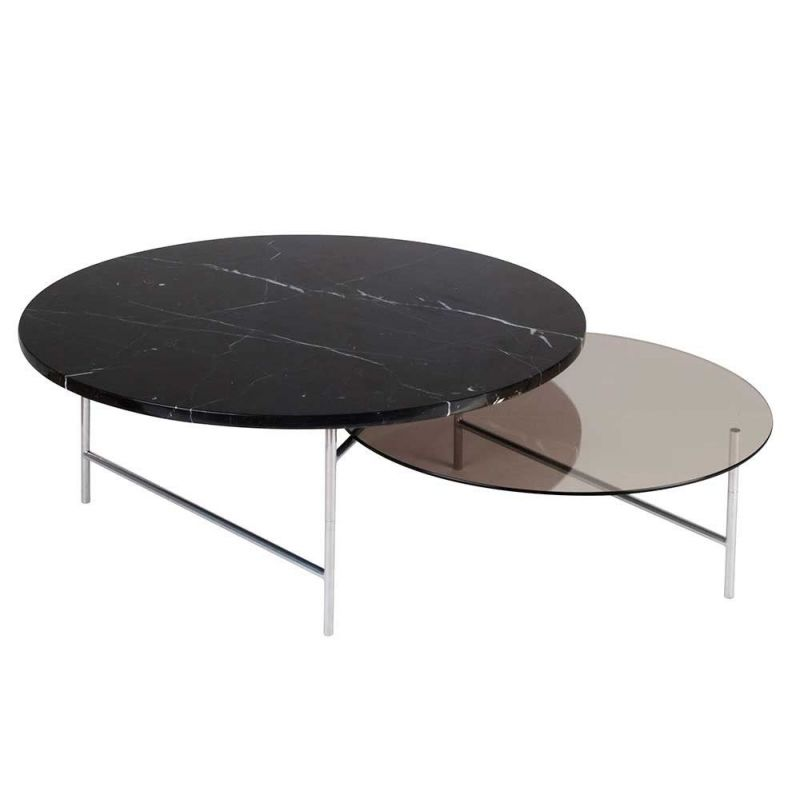 Zorro coffee table white background by la chance