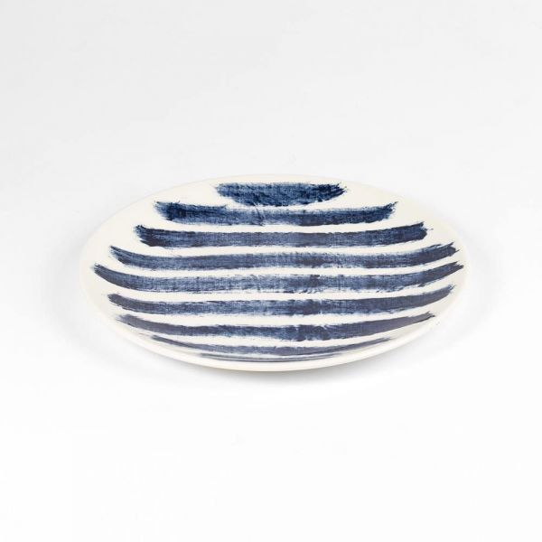 INDIGO RAIN SMALL PLATE by Faye Toogood for 1882 Ltd
