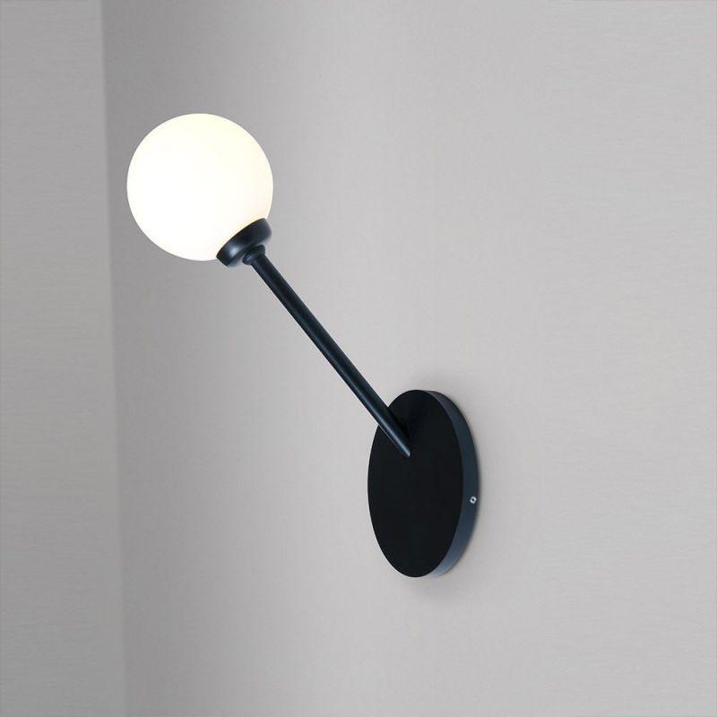 Row wall light Atelier Areti, black