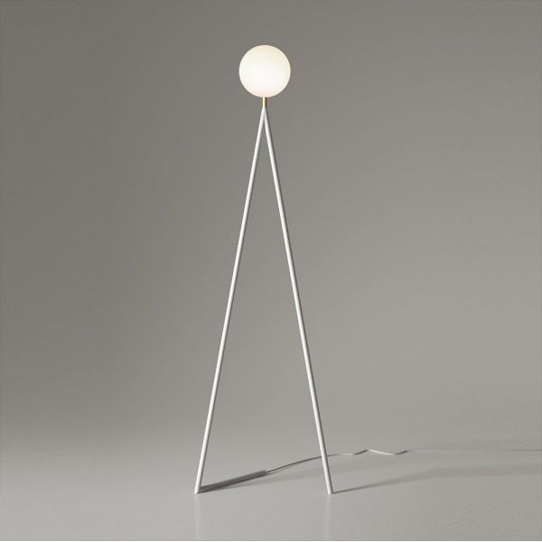 lampadaire one globe by areti