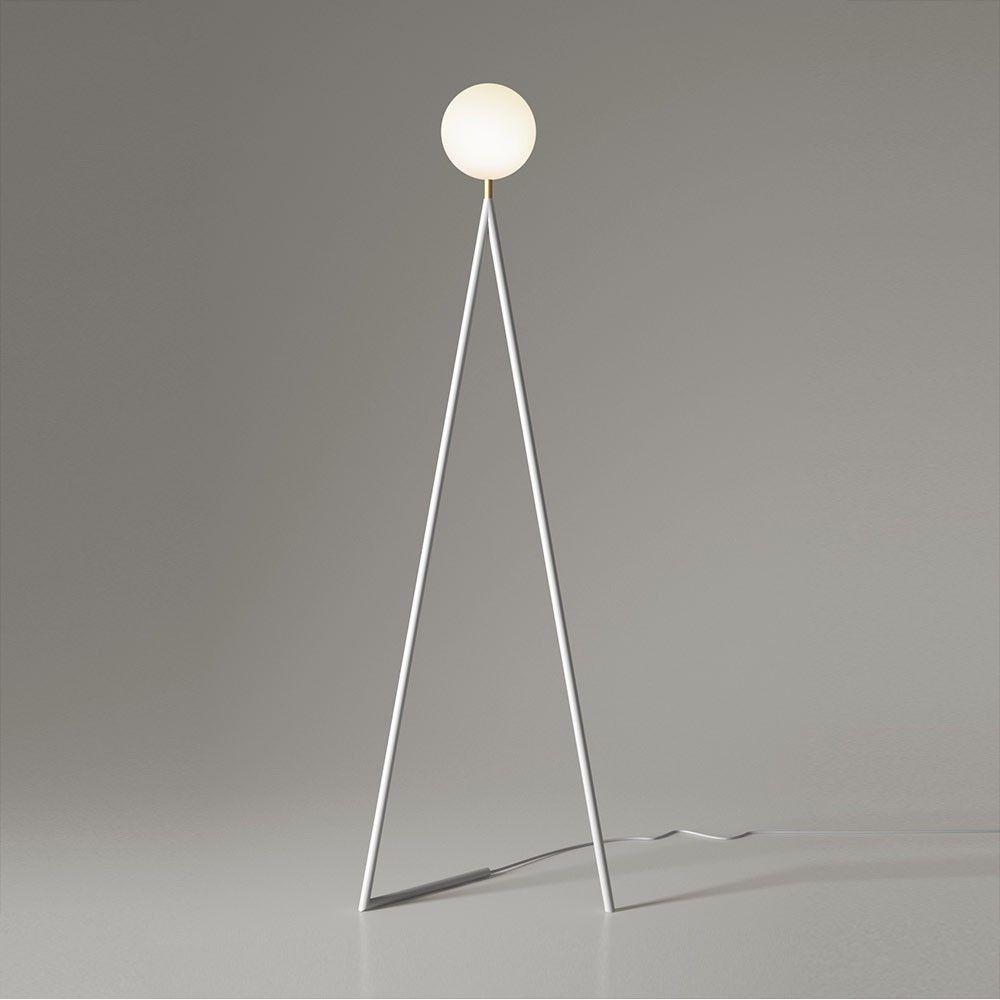 one globe floor lamp by areti