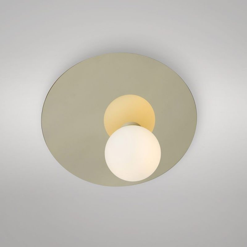 applique disc & sphere asymmetrical areti