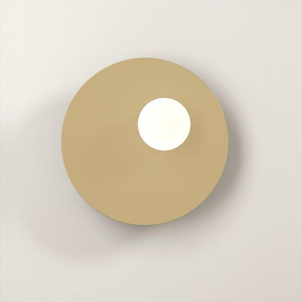 disc & sphere white background