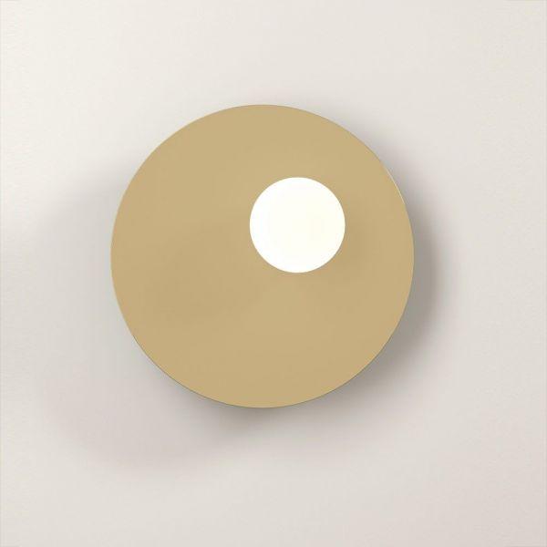 applique disc & sphere asymmetrical fond blanc