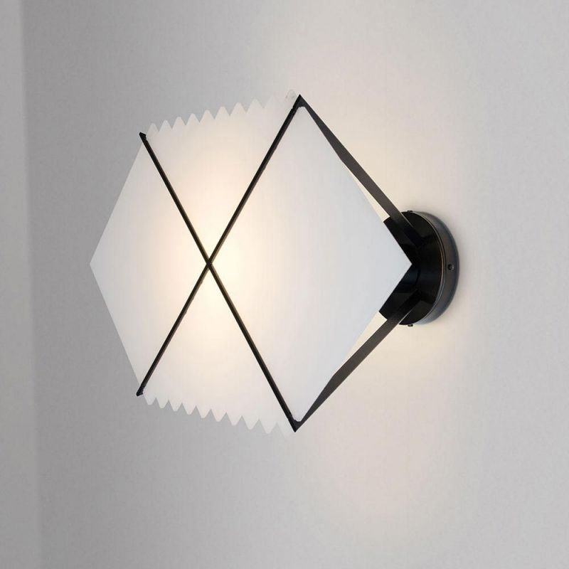 BLACK HOLE WALL LIGHT by Areti grey background
