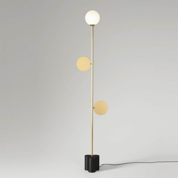 plates floor lamp by atelier areti