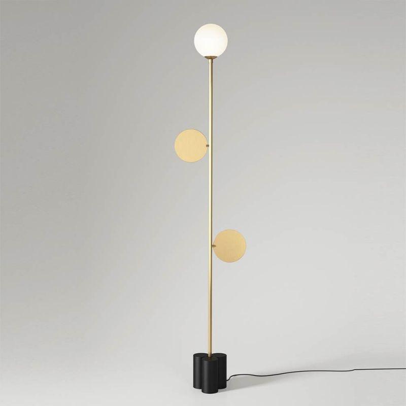 plates floor lamp by atelier areti