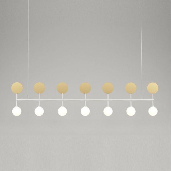 ROW PENDANT by Atelier Areti grey background