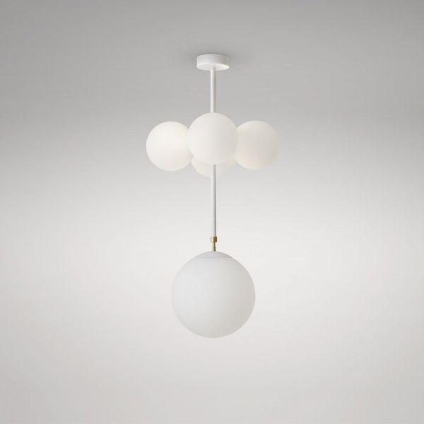 axis 4 globes by atelier areti white background