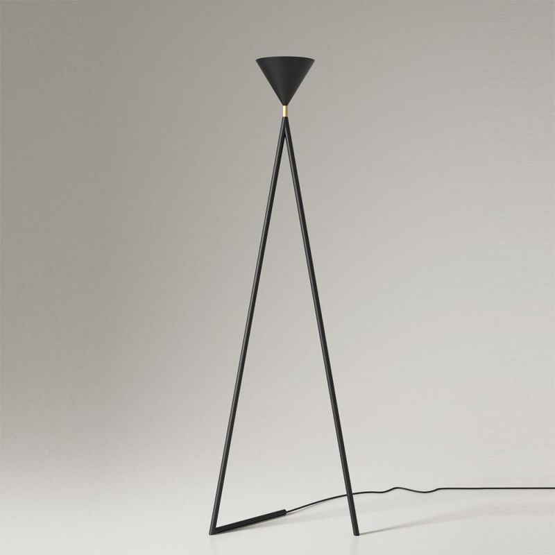 one cone floor lamp by areti