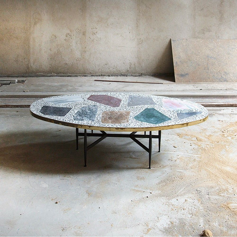 magic stone coffee table by rooms