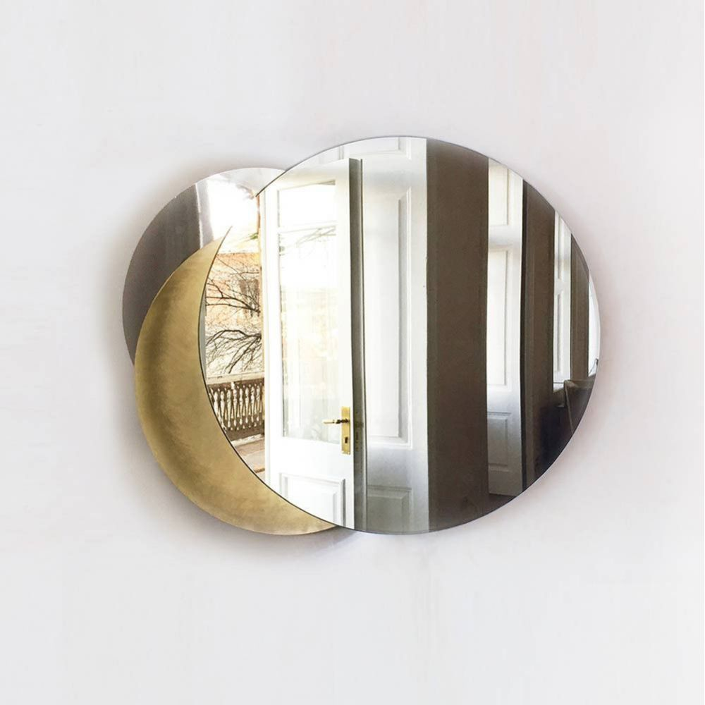Eclipse mirror wall light by Rooms