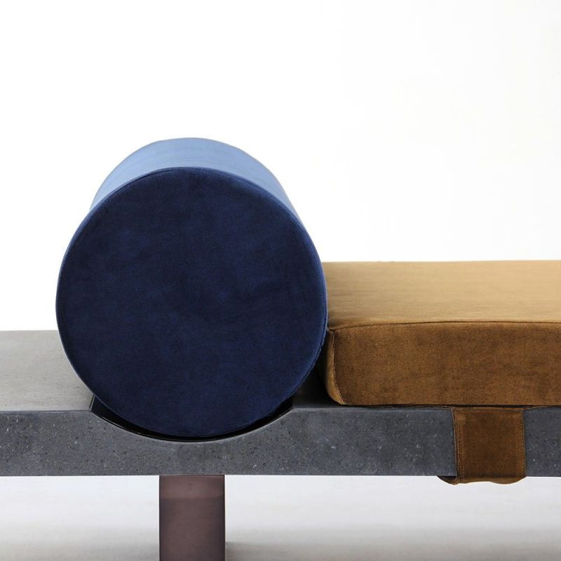 lavastone daybed styled in an interior by charlotte juillard