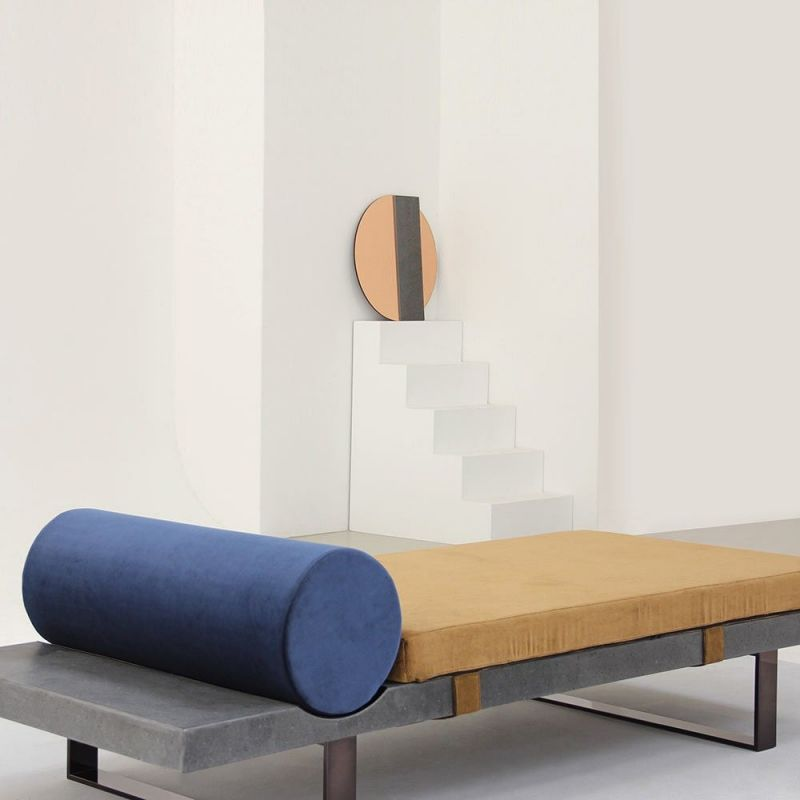 lavastone daybed in a room by charlotte juillard