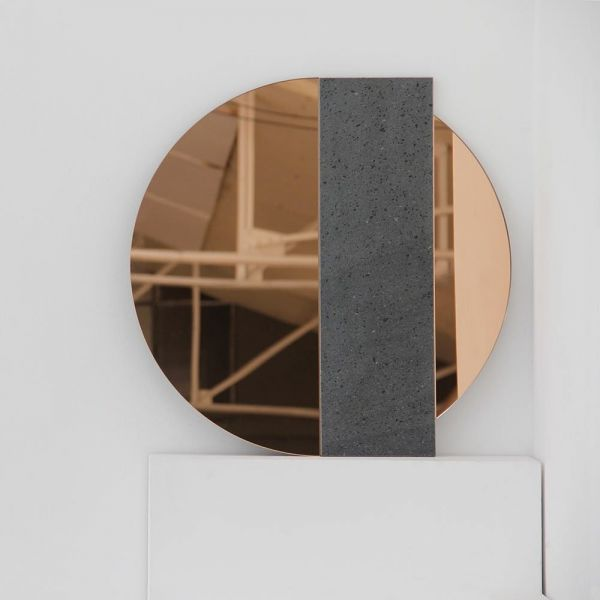 miroir lavastone fond blanc